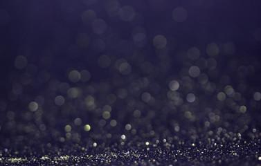glitter vintage lights background gold