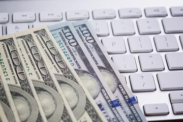 Money as e-commerce concept