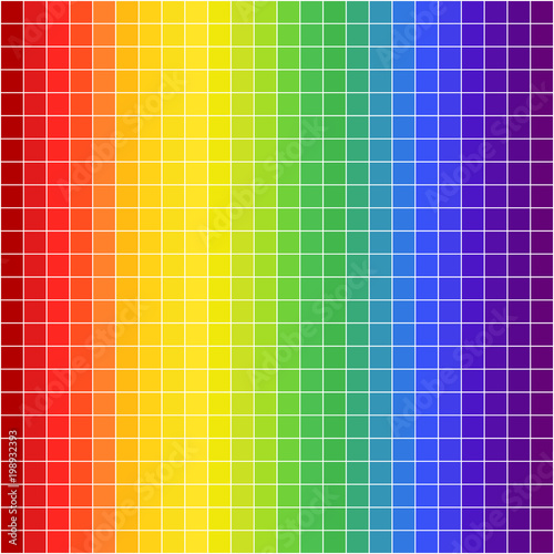 Seamless Rainbow Pattern Striped Multicolored Background Abstract