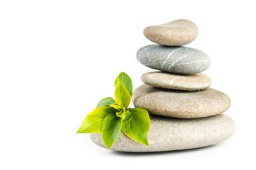 Estores personalizados com paisagens com sua foto Zen pebbles balance
