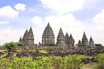 Shrine of Prambanan hindu temple, Yogyakarta, Java, Indonesia