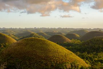 Spoed Fotobehang Heuvel Philippines - Chocolate Hills on Bohol