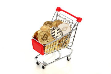 ショッピングカートと仮想通貨,