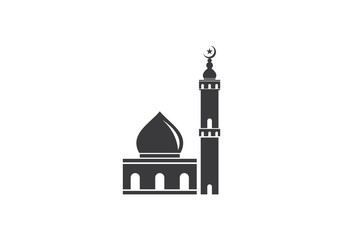 islamic mosque logo vector - Buy this stock vector and explore