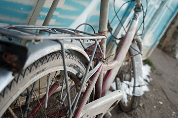 desolate old bicycle
