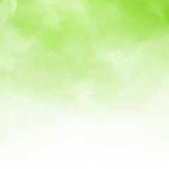 White cloud detail on green natral background and texture with copy space.