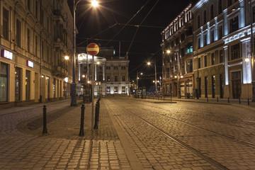 Wroclaw by night, Poland - Opera