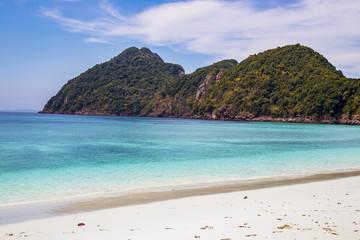 Tropical beach at andaman sea, Island in Myanmar.