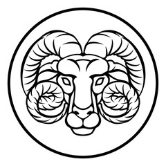 Aries Astrology Horoscope Zodiac Sign