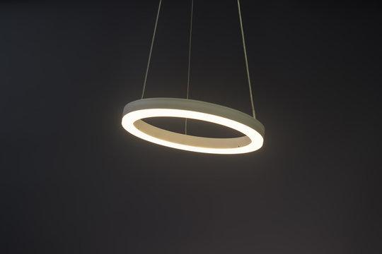 Modern led Pendant light lamp illuminated, Elegant Chandelier illuminated