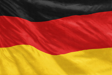 Flag of Germany full frame close-up