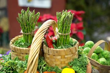 Asparagus Basket