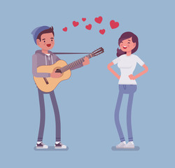 Serenade dating couple
