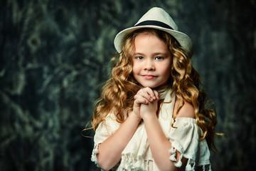 angelic little girl
