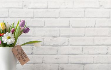 Fototapete - Spring gift flowers