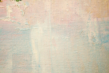Abstract painting. Painting with oils on canvas for the background of a major stroke.
