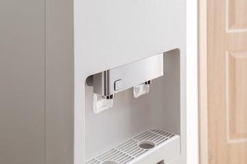 Office water cooler, closeup