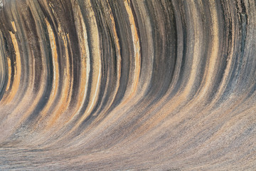 Wall Mural - Spectacular Wave Rock, famous place in the outback of Western Australia