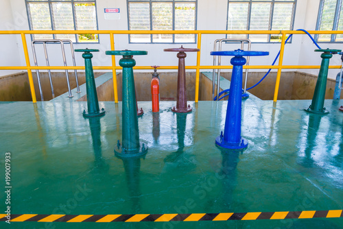 Control Water Gate Valve Stock Photo And Royalty Free Images On
