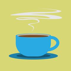 coffee cup icon, Vector illustration