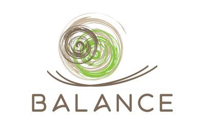 Balance Yoga Logo Vektor