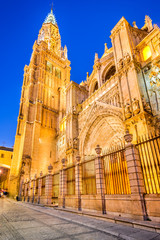 Fototapete - Toledo, Castilla la Mancha, Spain