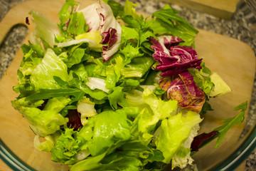 fresh vitamin salad for health