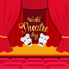 World Theatre Day.