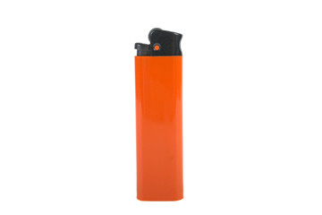 lighter orange isolated on white background