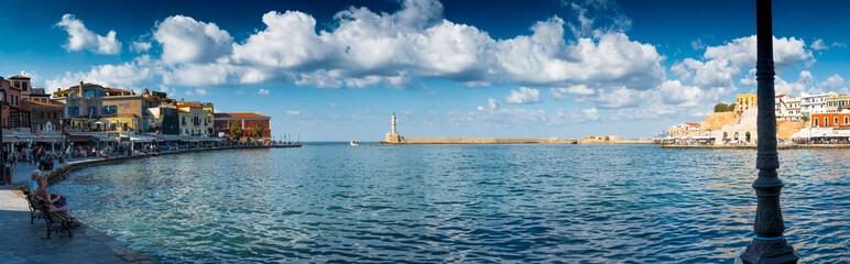 Chania Waterfront, Crete, Greece