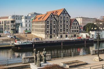 Obraz Bydgoszcz Stary Port - fototapety do salonu