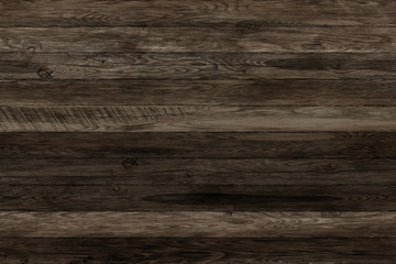 Dark grunge wood panels. Planks Background. Old wall wooden vintage floor
