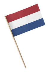 Netherlands Small flag isolated on a white background