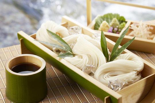 そうめん Somen(Japanese fine noodles)
