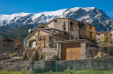 Pretare: il paese delle fate ai piedi del Monte Vettore distrutto dal terremoto di Norcia