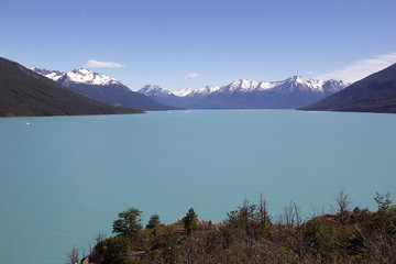 The Argentino Lake in Patagonia, Argentina