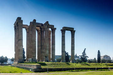 Temple Of Olympian Zeus - Athens,