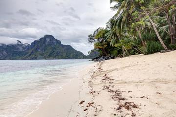 Exotic beach, Palawan Island, Philippines