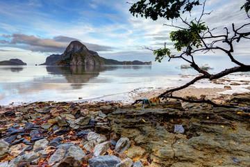 Beautiful El Nido landscape, Palawan, Philippines