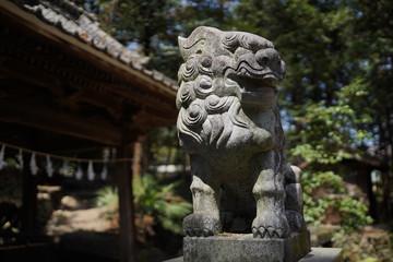 田舎の古い神社