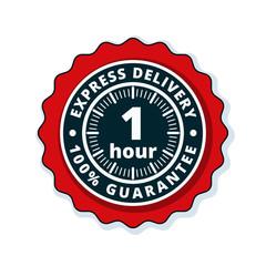1Hour Express Delivery illustration