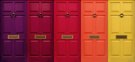 London Door Fototapete