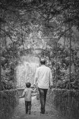 Paseo padre e Hijo