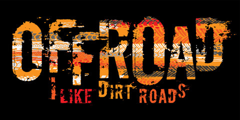 Off-Road Tire Lettering