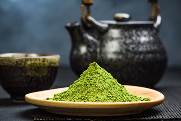 Organic matcha tea powder, oriental tea