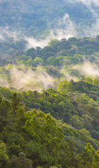 mountain field, nature location in Thailand