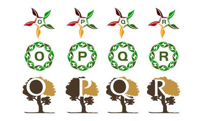 Leaf Tree Template Set
