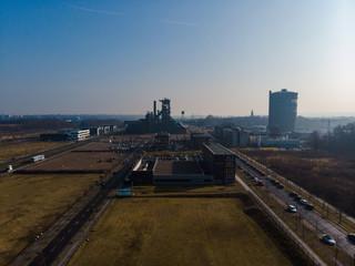 Panorama vom ehemaligen Hochofen Phönix West in Dortmund