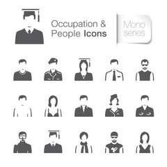 Occupation & people icons