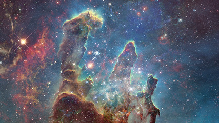 Nebula the site of star formation. Elements of this image furnished by NASA.